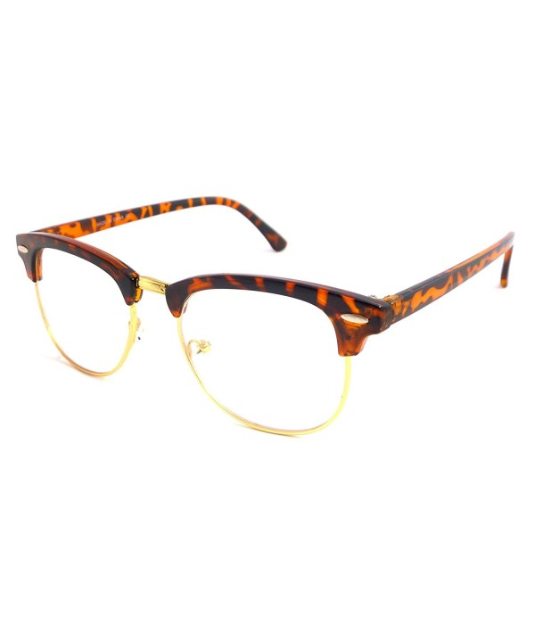 Vintage Inspired Classic Rimmed Glasses