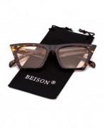 Beison Womens Fashion Sunglasses Tortoise