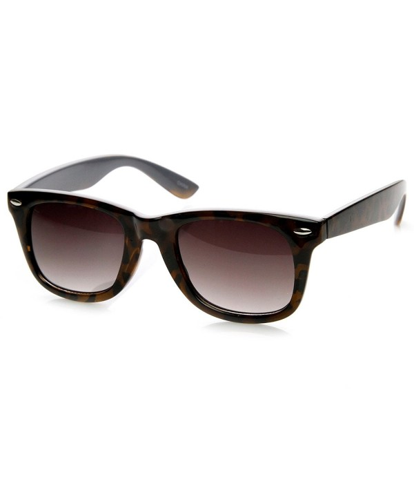 zeroUV Two Tone Tortoise Sunglasses Tortoise Gray