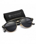 AEVOGUE Polarized Sunglasses Semi Rimless Glasses