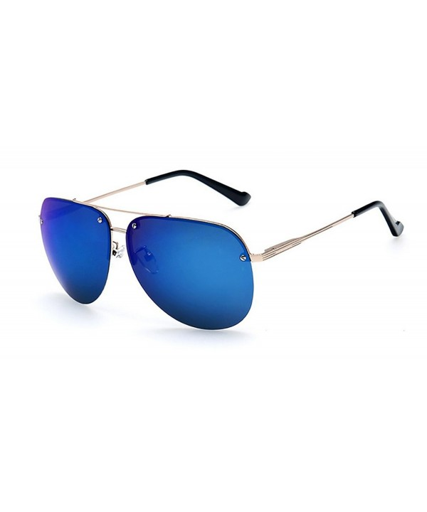 Premium Mirrored Aviator Sunglasses Mirror