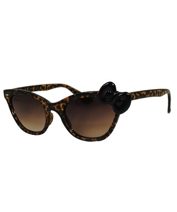 Hello Kitty Leopard Sunglasses Yellow