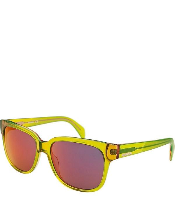 Diesel Eyewear Unisex Sunglasses Translucent