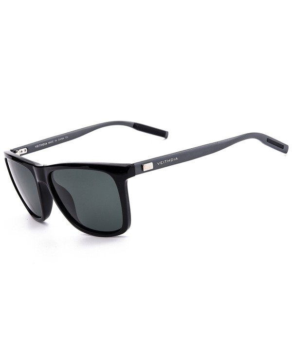 VEITHDIA Al Mg Polarized Wayfarer Sunglasses