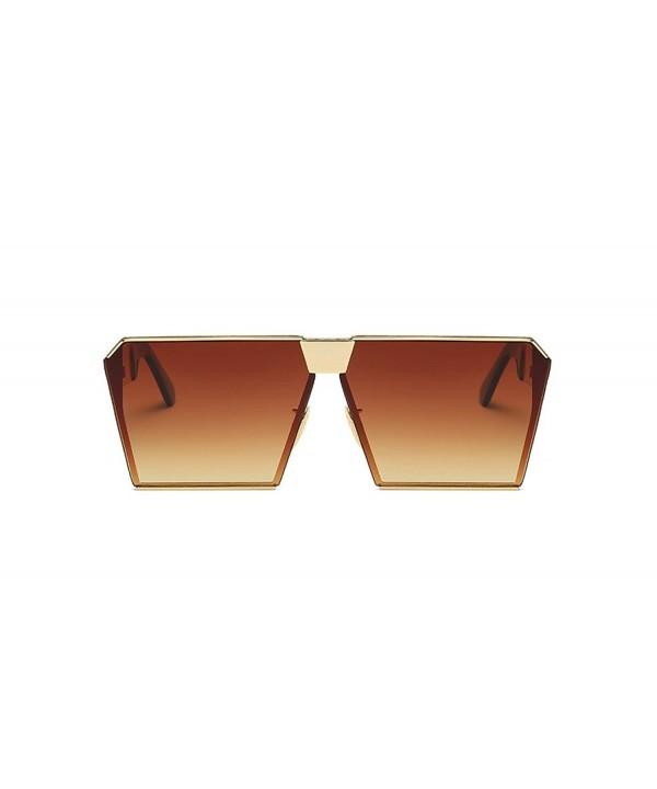 VATENANI Oversized Mirrored Polarized Sunglasses