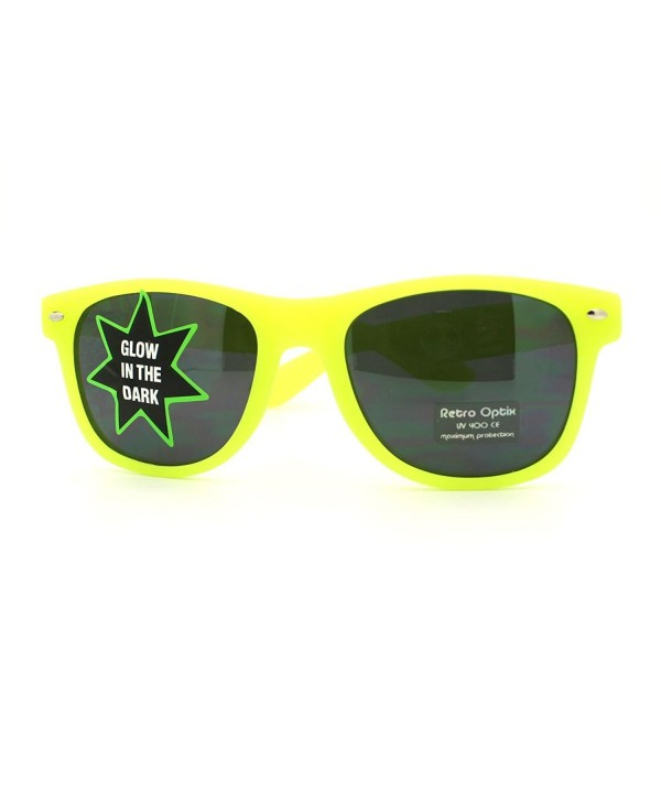 Yellow Wayfarer Sunglasses Perfect Shades