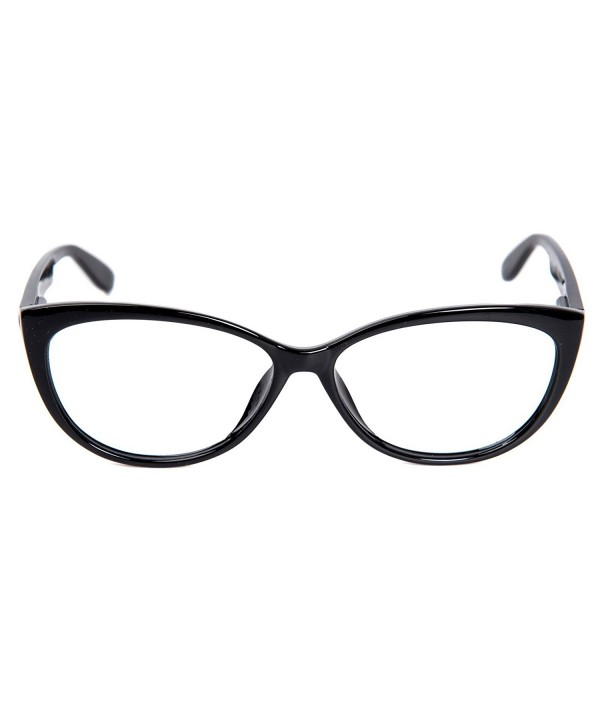 Glassesshop Fashion Oversized Pointed Inspired Black