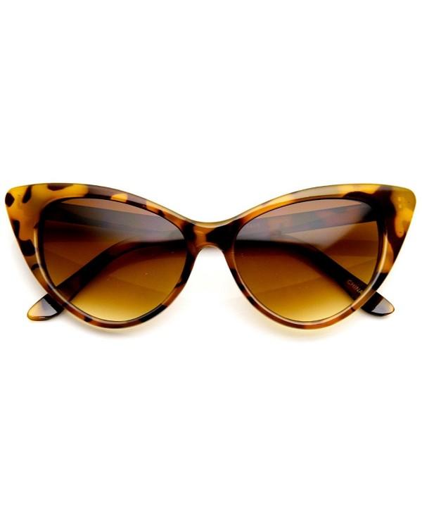 zeroUV Cateyes Vintage Inspired Sunglasses