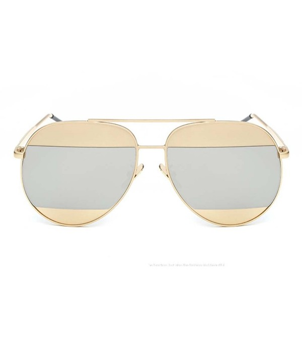 Classic Double Mirrored Aviator Sunglass