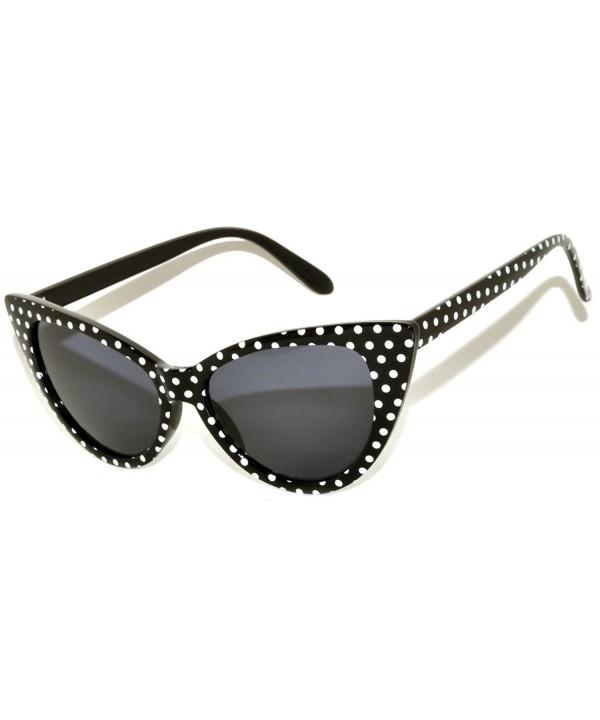 Fashion Vintage Smoke Sunglasses Black