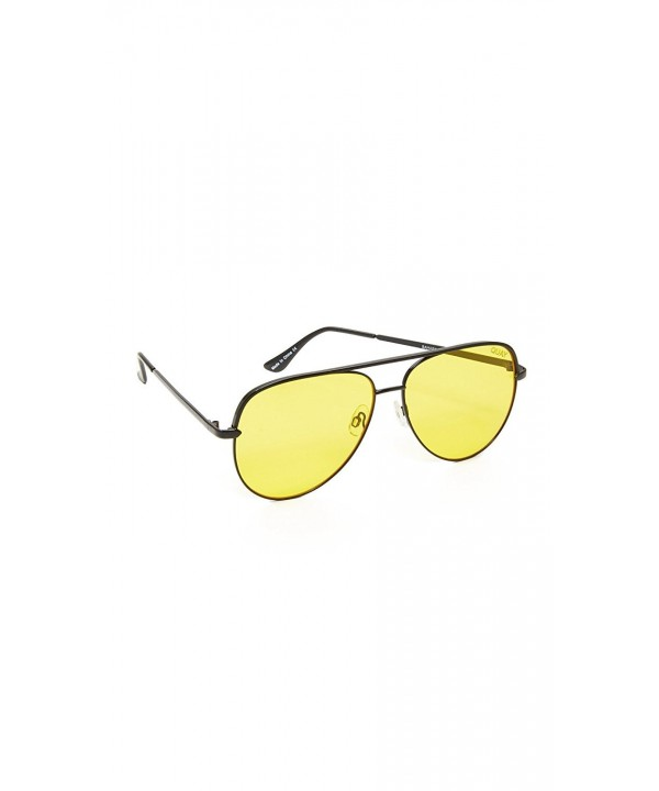 Quay Womens Perkins Aviator Sunglasses