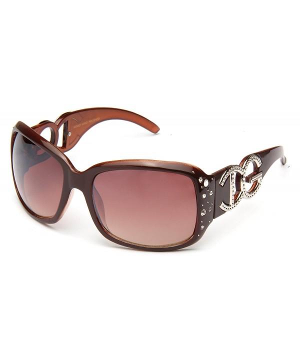 IG Rhinestone Butterfly Plastic Sunglasses