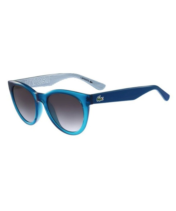 Lacoste L788S Turquoise Oval Sunglasses