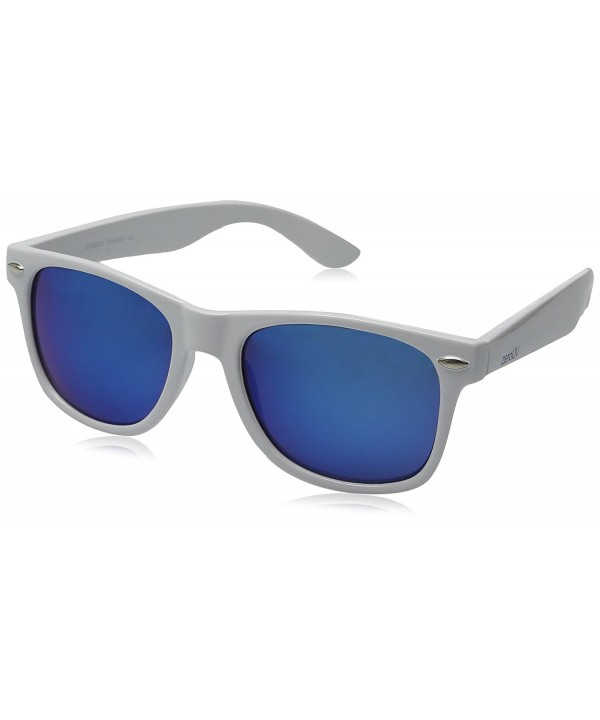 Hipster Fashion Mirror Rimmed Sunglasses