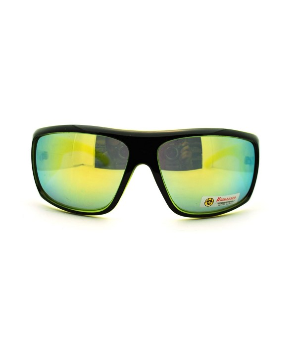 Biohazard Oversized Around Temple Sunglasses