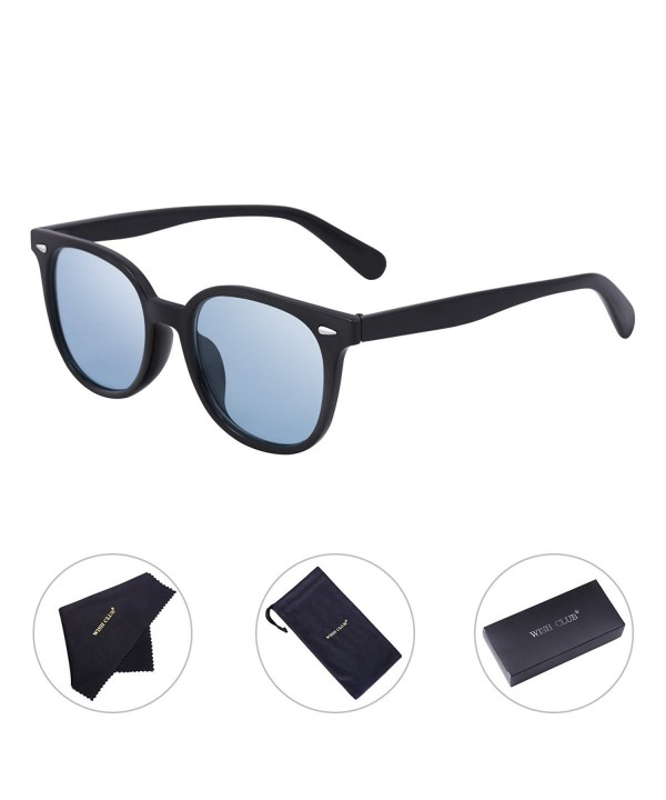 WISH CLUB Wayfarer Sunglasses Transparent