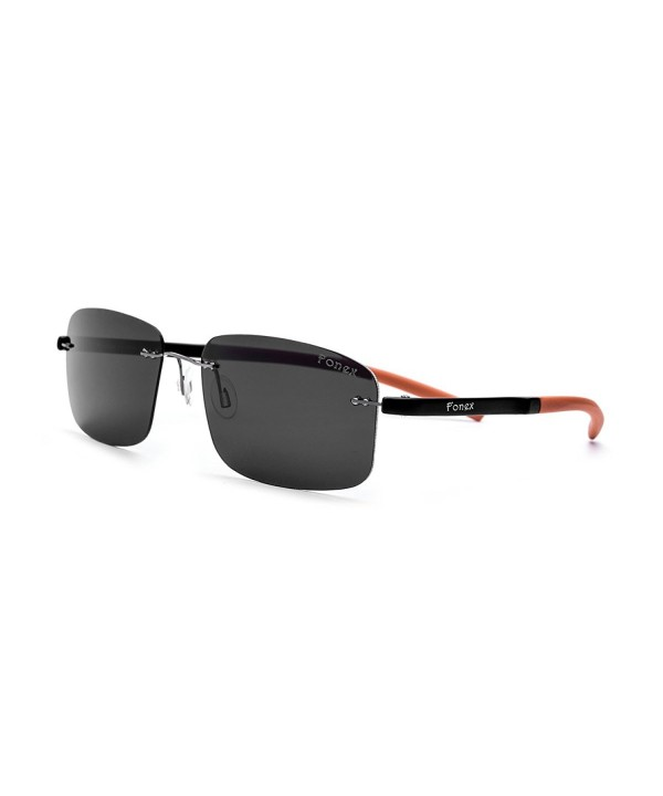FONEX Rimless Ultralight Polarized Sunglasses
